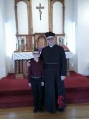 Tyler baptized 1/28/18